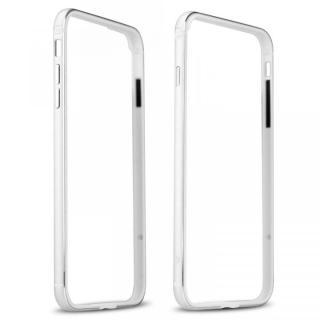 【iPhone7 Plusケース】FRAME x FRAME メタルバンパーケース シルバー/ホワイト iPhone 7 Plus_1