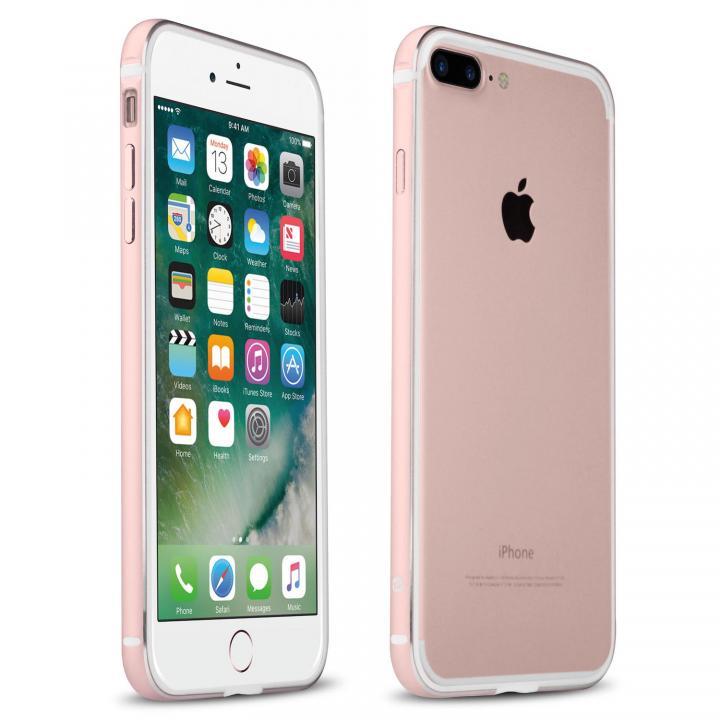 iPhone7 Plus ケース FRAME x FRAME メタルバンパーケース ローズゴールド/ホワイト iPhone 7 Plus_0