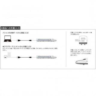 [3200mAh]もちてつ! JR500 新幹線 モバイルバッテリー_10
