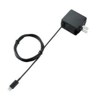 LightningAC充電器/2.4A出力/ブラック