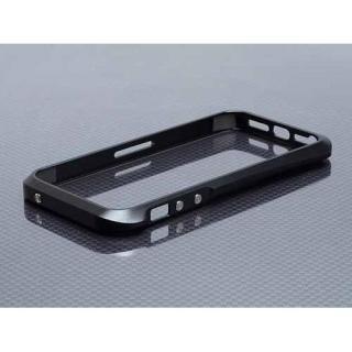 iPhone SE/5s/5 ハイブリットメタルバンパー SEALED D001ブラック
