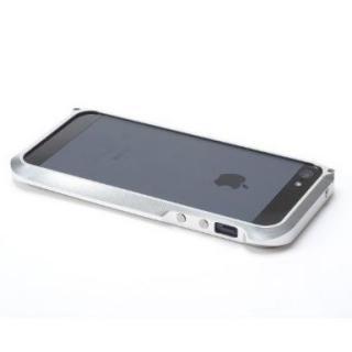 iPhone SE/5s/5 ハイブリットメタルバンパー SEALED D001シルバー