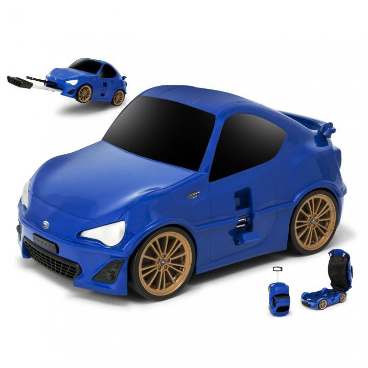 スバルBRZのキャリーケース ブルー