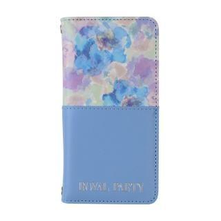 ROYAL PARTY 手帳型ケース ハーフ/パステル/ブルー iPhone 8/7