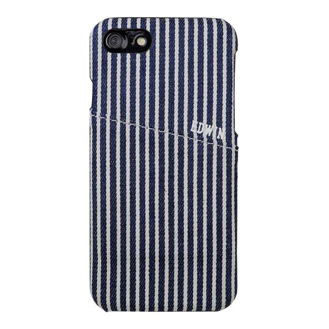 iPhone8/7 ケース EDWIN(エドウィン) allデニムケース iPhone SE 第2世代/8/7 ヒッコリー_0