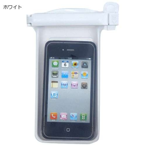iPhone SE/5s/5 ケース ポムクリップ2.0 ホワイト_0