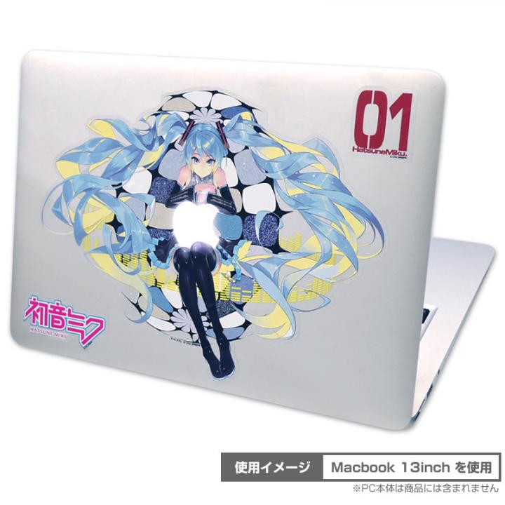 PCステッカー 初音ミク Petamo! for MacBook_0