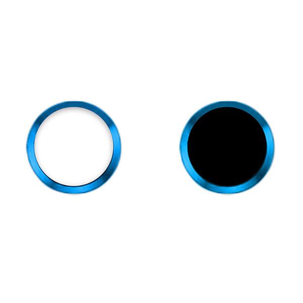TouchID対応 ホームボタンシール iFinger Ver2 ブルー_0