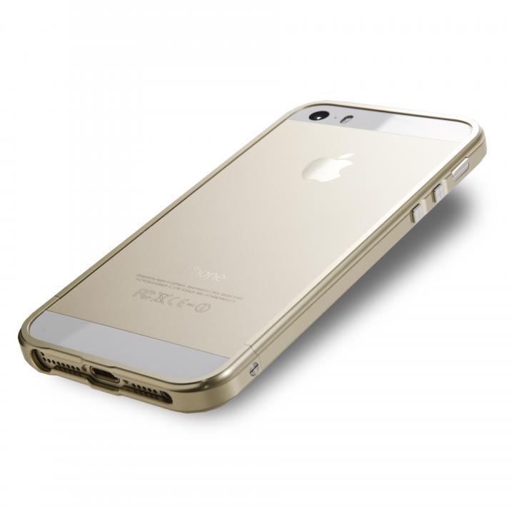 iPhone SE/5s/5 ケース iPhone  SE/5s/5 レッドアラート ゴールド_0