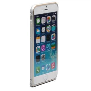 【iPhone6ケース】強化ガラスつき アルミバンパー truffol Rim Air シルバー iPhone 6_1