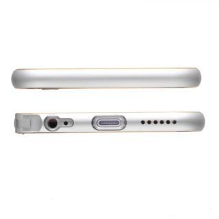 【iPhone6ケース】強化ガラスつき アルミバンパー truffol Rim Air シルバー iPhone 6_2