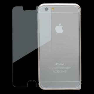 【iPhone6ケース】強化ガラスつき アルミバンパー truffol Rim Air シルバー iPhone 6_4