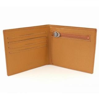 [4周年特価]スマートウォレット 2つ折り財布 ブラウン
