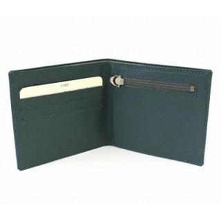 [百花繚乱セール]スマートウォレット 2つ折り財布 グリーン