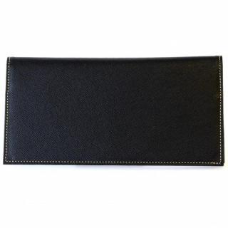 [4周年特価]スマートウォレット 長財布 ブラック