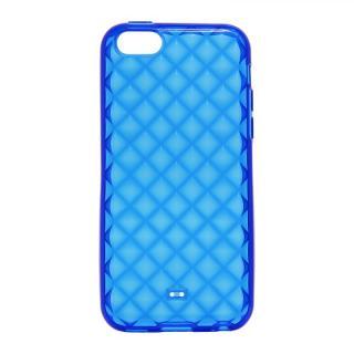 その他のiPhone/iPod ケース iPhone 5c TPUケース(ダイヤ) ブルー