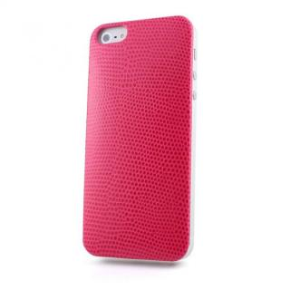 Ssongs BubblePack Leather (Lizard Pink)  iPhone SE/5s/5