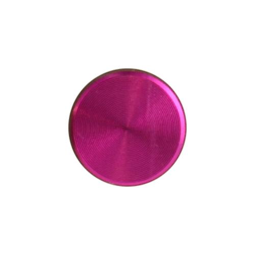 ホームボタンシール プレイン (Pink)  Apple Pink