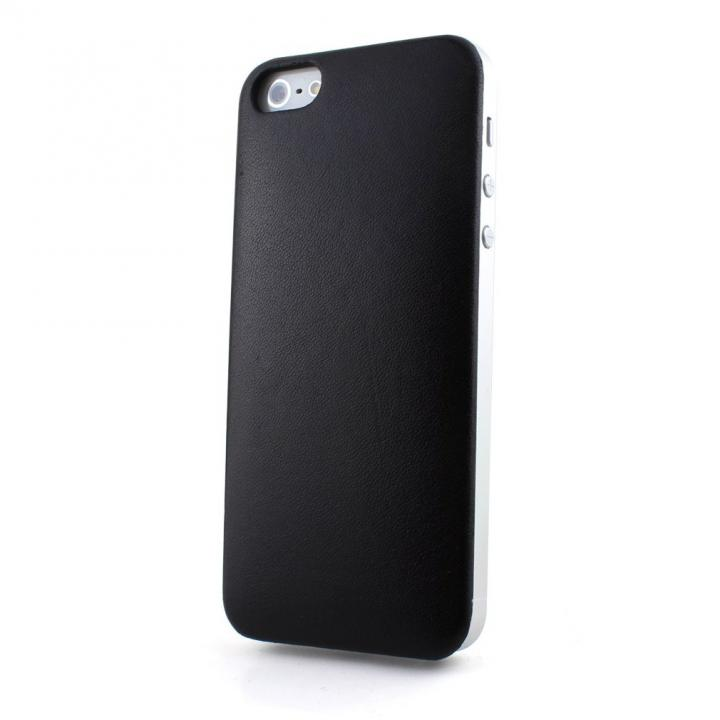 iPhone SE/5s/5 ケース Ssongs BubblePack Leather Calf Black iPhone 5s/5_0