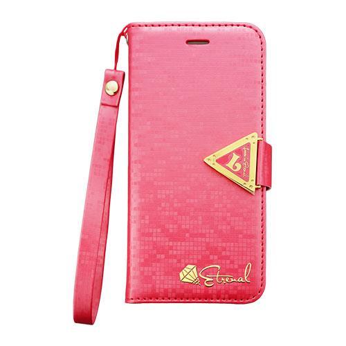 【iPhone6ケース】手帳型ケース Leiers ピンク iPhone 6_0