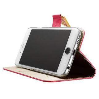 【iPhone6ケース】手帳型ケース Leiers ピンク iPhone 6_3