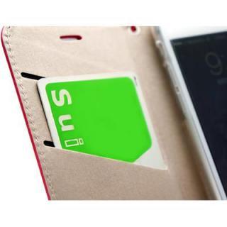 【iPhone6ケース】手帳型ケース Leiers パープル iPhone 6_1