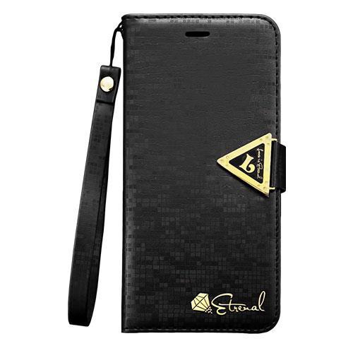 iPhone6 Plus ケース 手帳型ケース Leiers ブラック iPhone 6 Plus_0