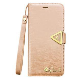 手帳型ケース Leiers ゴールド iPhone 6 Plus
