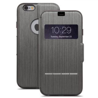 手帳型ケース moshi SenseCover ブラック iPhone 6 Plus