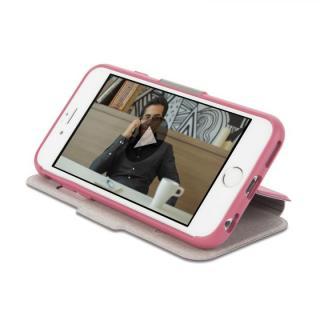 【iPhone6/6 Plusケース】手帳型ケース moshi SenseCover ピンク iPhone 6_2