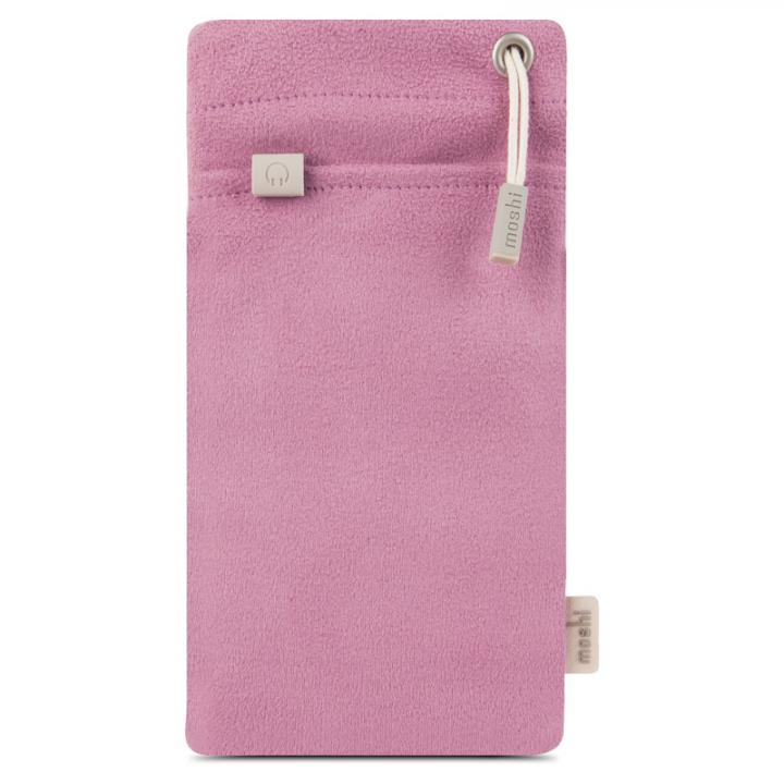 iPhone6/6 Plus ケース マイクロファイバー製ポーチ moshi iPouch Plus ピンク iPhone_0