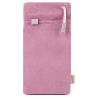マイクロファイバー製ポーチ moshi iPouch Plus ピンク iPhone