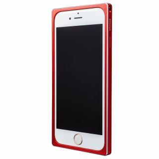 【iPhone6s/6ケース】GRAMAS ストレートメタルバンパー レッド iPhone 6s/6