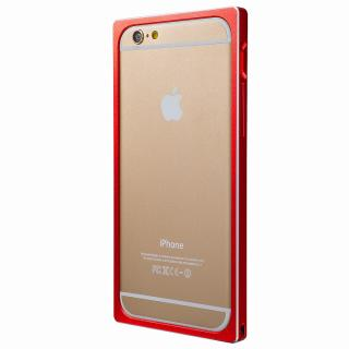 【iPhone6s/6ケース】GRAMAS ストレートメタルバンパー レッド iPhone 6s/6_3