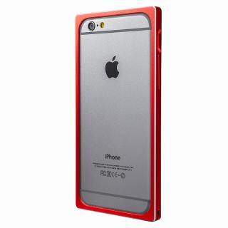 【iPhone6s/6ケース】GRAMAS ストレートメタルバンパー レッド iPhone 6s/6_4