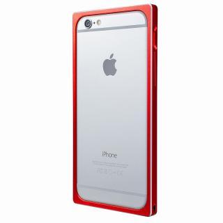 【iPhone6s/6ケース】GRAMAS ストレートメタルバンパー レッド iPhone 6s/6_5