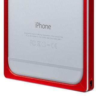 【iPhone6s/6ケース】GRAMAS ストレートメタルバンパー レッド iPhone 6s/6_7