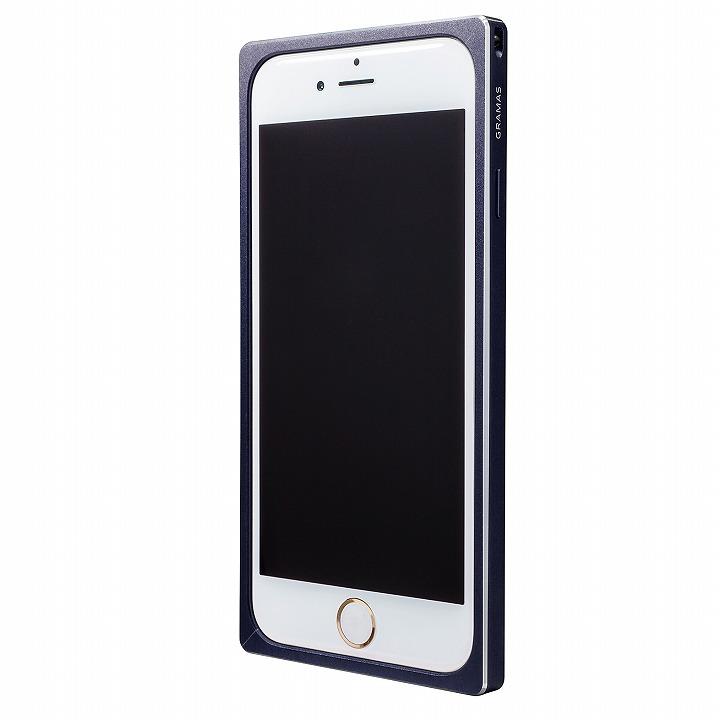 iPhone6s/6 ケース GRAMAS ストレートメタルバンパー ネイビー iPhone 6s/6_0