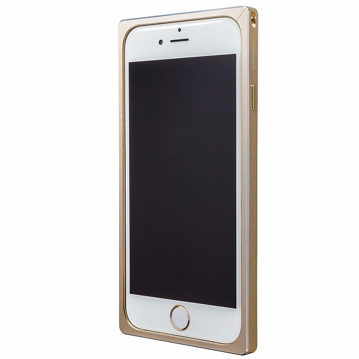 GRAMAS ストレートメタルバンパー ゴールド iPhone 6