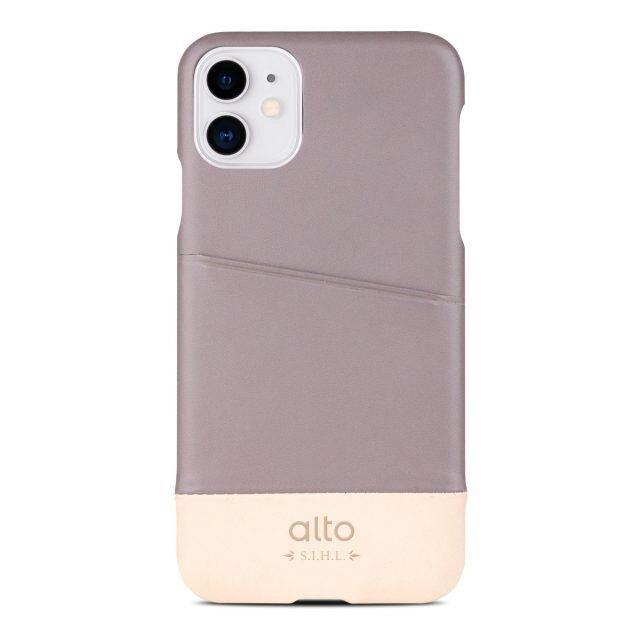 iPhone 11 ケース alto Metro レザーケース セメント/オリジナル iPhone 11_0
