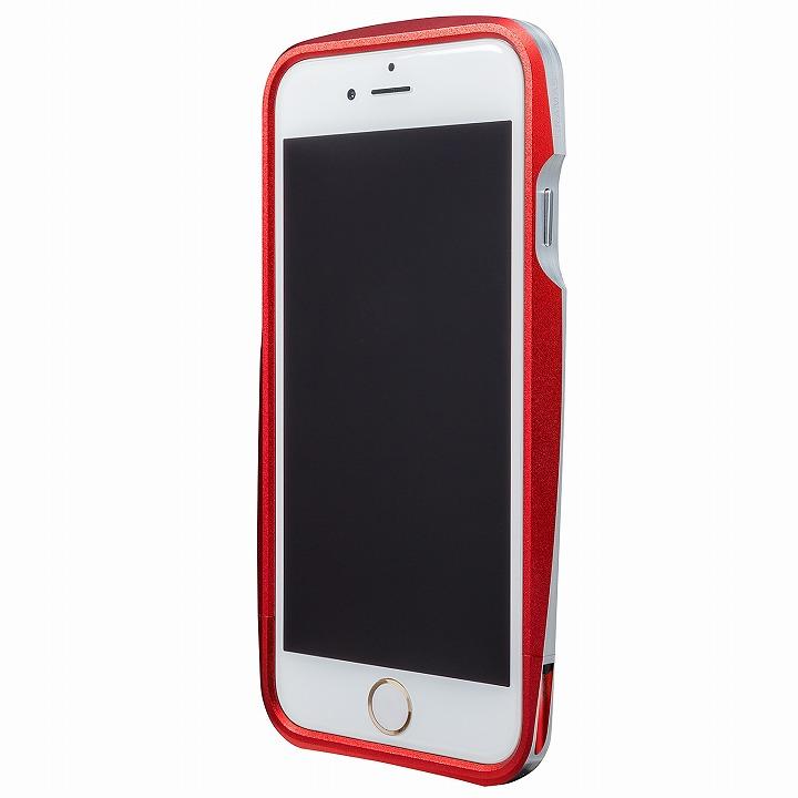 【iPhone6s/6ケース】GRAMAS ラウンドメタルバンパー レッド iPhone 6s/6_0