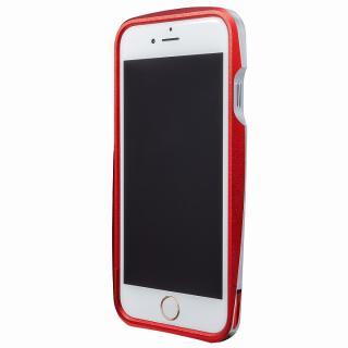 GRAMAS ラウンドメタルバンパー レッド iPhone 6s/6