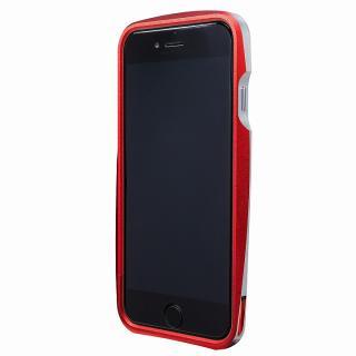 【iPhone6s/6ケース】GRAMAS ラウンドメタルバンパー レッド iPhone 6s/6_1