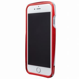 【iPhone6s/6ケース】GRAMAS ラウンドメタルバンパー レッド iPhone 6s/6_2