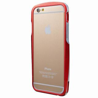 【iPhone6s/6ケース】GRAMAS ラウンドメタルバンパー レッド iPhone 6s/6_3