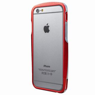 【iPhone6s/6ケース】GRAMAS ラウンドメタルバンパー レッド iPhone 6s/6_4