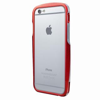 【iPhone6s/6ケース】GRAMAS ラウンドメタルバンパー レッド iPhone 6s/6_5