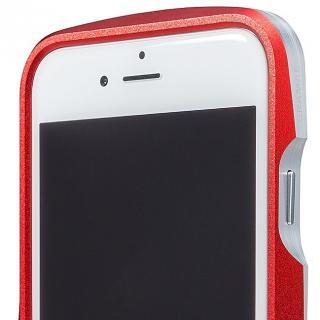 【iPhone6s/6ケース】GRAMAS ラウンドメタルバンパー レッド iPhone 6s/6_6
