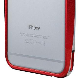 【iPhone6s/6ケース】GRAMAS ラウンドメタルバンパー レッド iPhone 6s/6_7