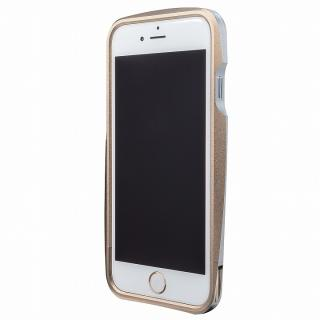 GRAMAS ラウンドメタルバンパー ゴールド iPhone 6s/6